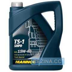 Моторное масло MANNOL TS-1 SHPD - rezina.cc
