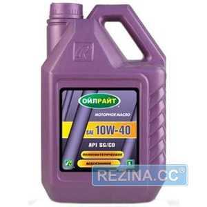 Купить Моторное масло OILRIGHT 10W-40 SG/CD (4л)