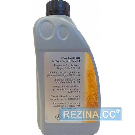 Моторное масло MERCEDES-BENZ Synthetic MB 229.51 - rezina.cc
