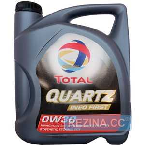 Купить Моторное масло TOTAL QUARTZ Ineo First 0W-30 (4л)