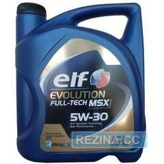 Моторное масло ELF EVOLUTION Full-Tech MSX - rezina.cc