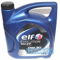 Купить Моторное масло ELF EVOLUTION 900 FT 0W-30 (4л)