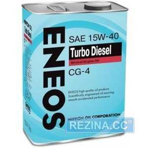 Купить Моторное масло ENEOS Turbo Diesel CG-4 15W-40 (4л)