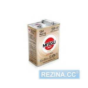 Купить Моторное масло MITASU MOTOR OIL SM 5W-40 (4л)