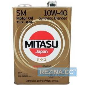 Купить Моторное масло MITASU MOTOR OIL SM 10W-40 (4л)