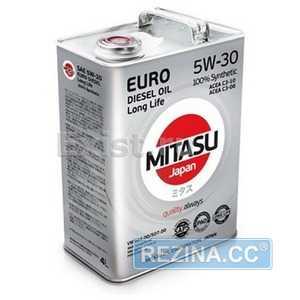 Купить Моторное масло MITASU EURO DIESEL LL 5W-30 (4л)