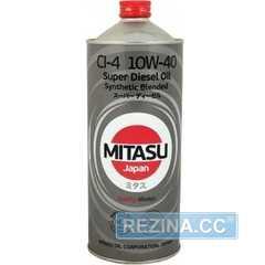 Купить Моторное масло MITASU SUPER DIESEL CI-4 10W-40 (1л)