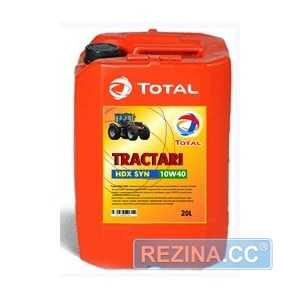 Купить Моторное масло TOTAL Tractagri Hdx Syn 10W-40 (60л)