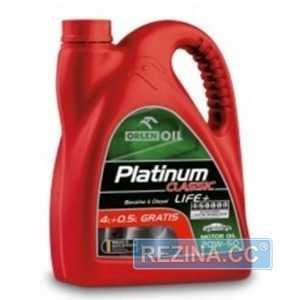 Купить Моторное масло ORLEN PLATINUM CLASSIC LIFE+ 20W-50 SG/CF-4 (4.5л)