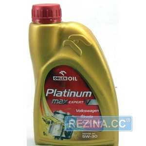 Купить Моторное масло ORLEN PLATINUM MAX EXPERT V 5W-30 (1л)
