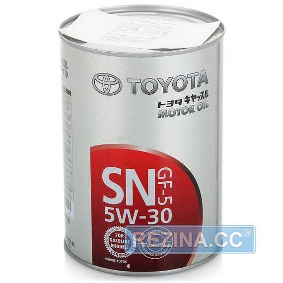 Моторное масло TOYOTA MOTOR OIL SN - rezina.cc