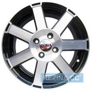 Купить DISLA HORNET 601 BD R16 W7 PCD4x100 ET38 DIA67.1