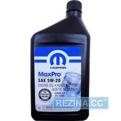 Моторное масло MOPAR MAX PRO - rezina.cc