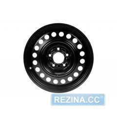 Купить Легковой диск STEEL KAP Black R16 W6.5 PCD5x114.3 ET45 DIA54.1