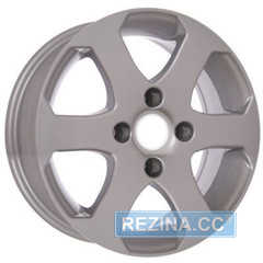 Купить Легковой диск STORM YQR-058 Silver R14 W5.5 PCD4x108 ET24 DIA65,1