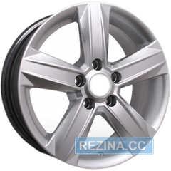 Легковой диск STORM YQR-054 Silver - rezina.cc