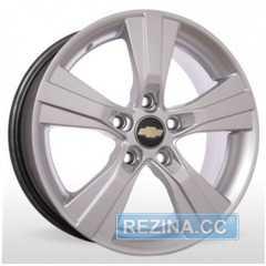 Легковой диск STORM YQR-019 Silver - rezina.cc