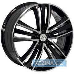 Купить REPLICA NISSAN FR832 BKF R20 W8 PCD5x114.3 ET50 DIA66.1