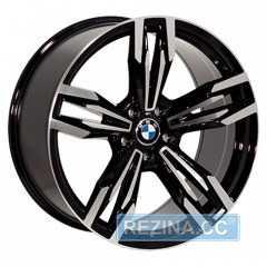 Купить REPLICA BMW B502 BKF R21 W10 PCD5x120 ET40 HUB74.1