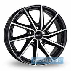 Купить ALUTEC Singa Diamond Black Front Polished R17 W7 PCD4x108 ET25 DIA65.1
