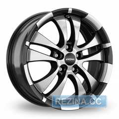 Легковой диск RONAL R59 Jet black-front diamond cut - rezina.cc