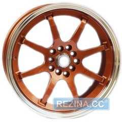 Легковой диск ALEXRIMS AFC-2 Bronze plus polished rim - rezina.cc