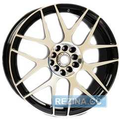Купить Легковой диск ALEXRIMS AFC-3 P​olished surface Plus black inside R18 W8 PCD5x100 ET42 DIA67.1