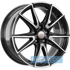 Купить Легковой диск SPEEDLINE SL6 Vettore Jet black-front diamond cut R19 W8.5 PCD5x112 ET21 DIA76