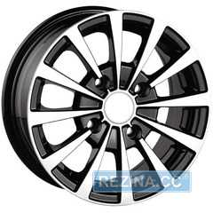 Купить Легковой диск PDW DW-894 Black Machine Face R13 W5.5 PCD4x100 ET35 DIA56.6