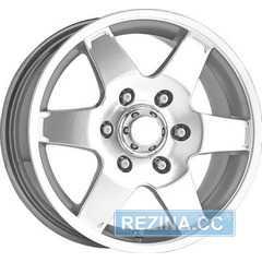 Легковой диск ALESSIO Cobra Silver DE - rezina.cc