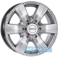 Легковой диск DOTZ Luxor Silver - rezina.cc