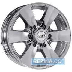 Купить Легковой диск DOTZ Luxor Chrome R17 W8 PCD6x139.7 ET20 DIA110