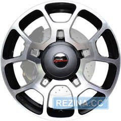 Легковой диск PDW Frenzy Mystic Gray Machine Face - rezina.cc