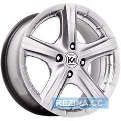 Купить Легковой диск KORMETAL KM 245 Tornado HB R15 W6.5 PCD5x110 ET40 DIA67.1