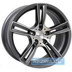 Купить Легковой диск PDW TF-5 Gunmetal Machine F​ace R18 W8 PCD5x112 ET35 DIA66.6