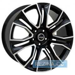 Купить Легковой диск PDW Sovereign Black Machine​ Face R18 W8 PCD5x114.3 ET45 DIA67.1