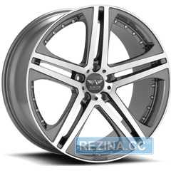 Купить Легковой диск Avarus AV7 Machined w/Anthracite Accent R20 W8.5 PCD5x114.3 ET25 DIA79.5