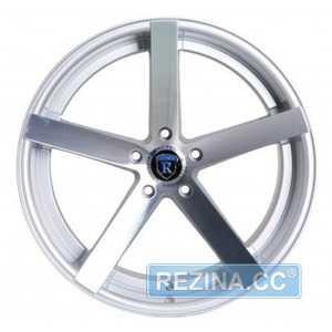 Купить Rohana RC22 Machine Silver R19 W9.5 PCD5x120 ET42 HUB72.56