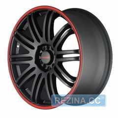 Легковой диск TENZO RACING TenSpec Matte Black w/Red Stripe - rezina.cc