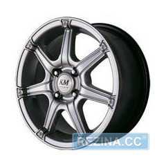 Купить Легковой диск KORMETAL KM 675 S R15 W6.5 PCD4x100 ET37 DIA67.1