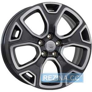 Купить Легковой диск WSP ITALY DETROIT W3804 ANTHRA​CITE POLISHED R18 W7 PCD5x110 ET40 DIA65.1