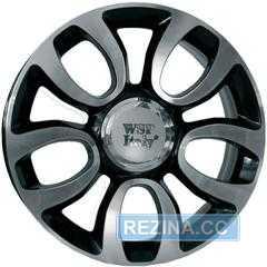 Легковой диск WSP ITALY ERCOLANO W167 GLOSSY BLACK POLISHED - rezina.cc