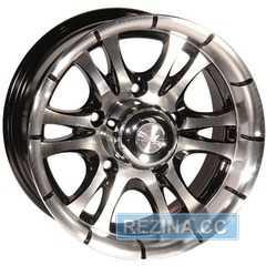 Купить ZW 268 (BP - Черный внутри полированый) R15 W7 PCD5x139.7 ET0 DIA110.5