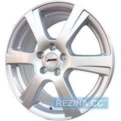 Купить Легковой диск AUTEC Polaric Brillantsilber R15 W6 PCD4x108 ET23 DIA65.1