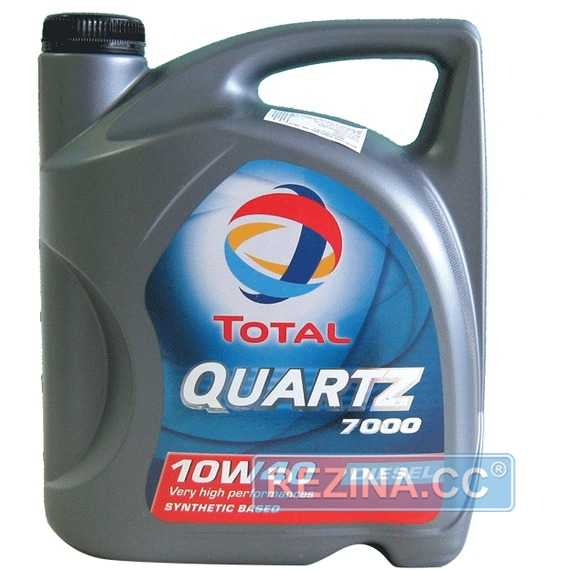 Моторное масло TOTAL QUARTZ Diesel 7000 - rezina.cc