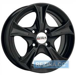 Купить DISLA Luxury 606 B R14 W6 PCD4x100 ET37 DIA67.1