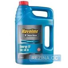 Купить Моторное масло TEXACO Havoline ENERGY EF 5W-30 (4л)