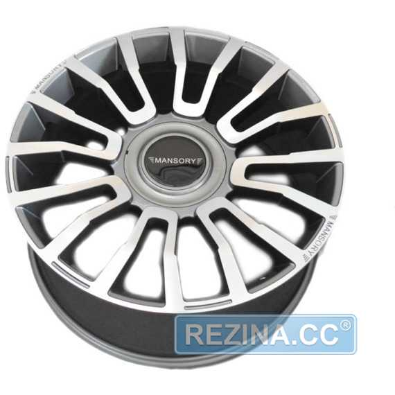 Легковой диск MANSORY MAN974 GMF - rezina.cc