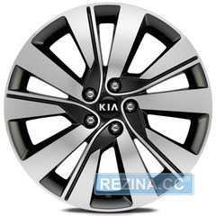 Легковой диск REPLICA LegeArtis KI527 BKF - rezina.cc