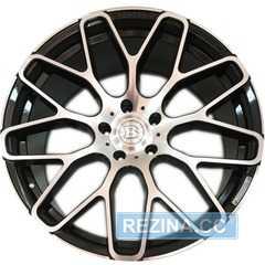 Купить Легковой диск REPLICA MR967 BKF R22 W10 PCD5x130 ET48 DIA84.1